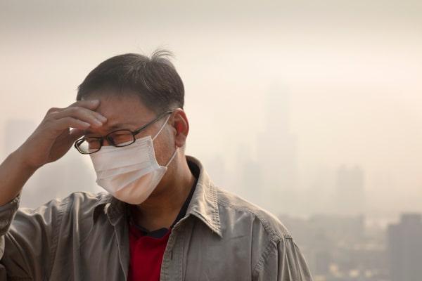 آلودگی و پوست و سلامت   خیز
