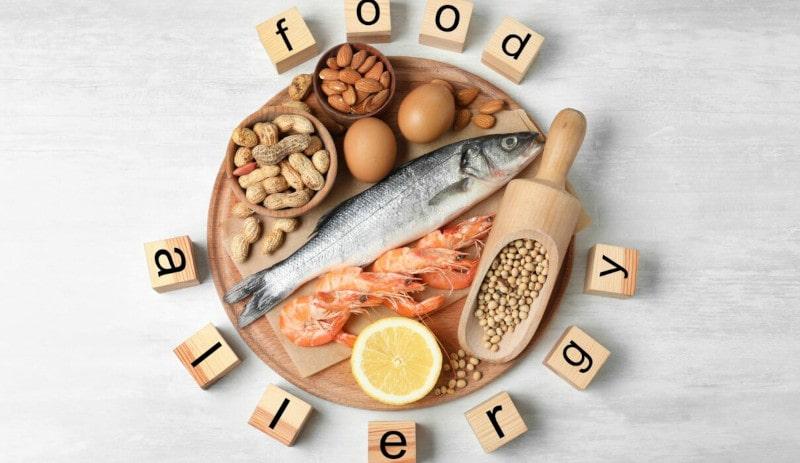 حساسیت به غذا   خیز