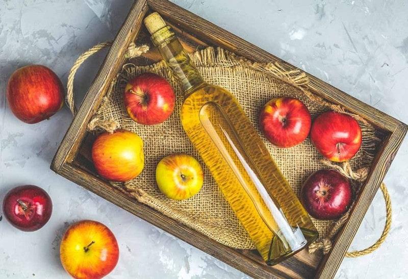 سرکه سیب-حساسیت   خیز